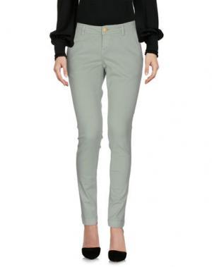 Повседневные брюки RE-HASH. Цвет: светло-зеленый