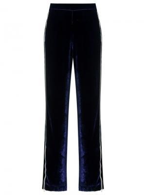Velvet trousers Reinaldo Lourenço. Цвет: синий