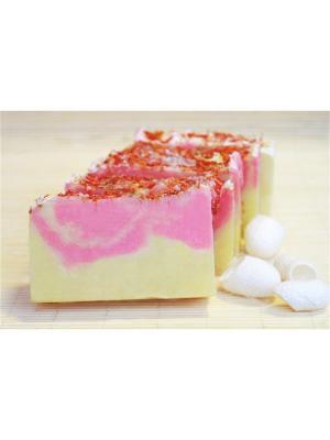 Натуральное мыло - Природная серия Иланг-иланг (с шелком) Entourage. Цвет: желтый, розовый