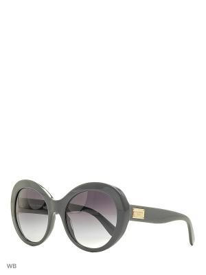 Очки солнцезащитные DOLCE & GABBANA. Цвет: серый