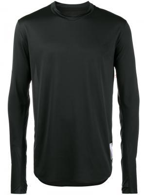 Легкая футболка с длинными рукавами Satisfy. Цвет: чёрный