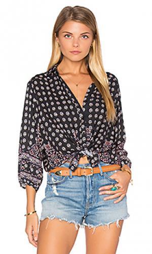 Рубашка с застёжкой на пуговицах gypsy girl AUGUSTE. Цвет: уголь