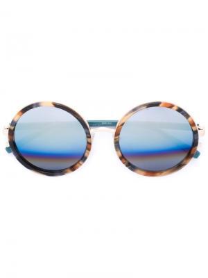 Солнцезащитные очки Tiger Matthew Williamson. Цвет: многоцветный
