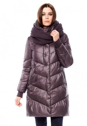 Куртка утепленная Alyaska. Цвет: фиолетовый