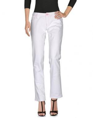 Джинсовые брюки JFOUR. Цвет: белый