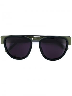 Солнцезащитные очки Sodapop III Smoke X Mirrors. Цвет: чёрный