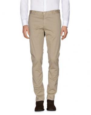 Повседневные брюки HERMAN & SONS. Цвет: бежевый