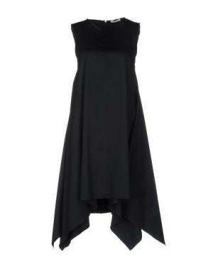 Короткое платье HOPE COLLECTION. Цвет: синий