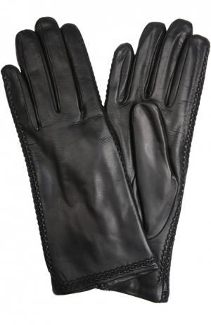 Перчатки Sermoneta Gloves. Цвет: черный