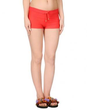 Пляжные брюки и шорты MISS NAORY. Цвет: красный