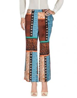 Повседневные брюки AGNESE GALLAMINI. Цвет: бирюзовый