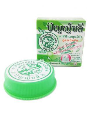 Растительная зубная паста Панчале Punchalee Herbal Toothpaste Panchalee. Цвет: зеленый