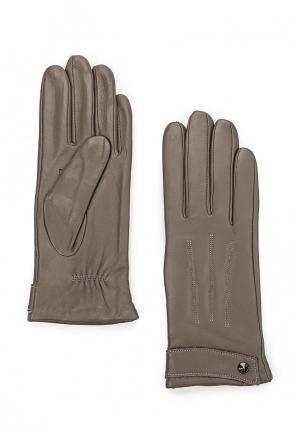 Перчатки Fabretti. Цвет: серый