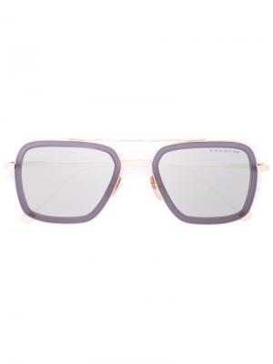 Солнцезащитные очки Flight Dita Eyewear. Цвет: серый
