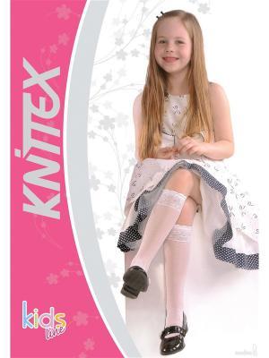 Комплект детских гольф  Knittex POLA, 18-22, Белый, 2 шт.. Цвет: белый