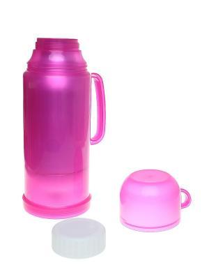 Термос с кружкой, 0,5 л Migura. Цвет: розовый