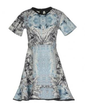 Короткое платье LES ÉCLAIRES. Цвет: небесно-голубой