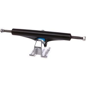 Подвески для скейтборда лонгборда 2шт.  Charger Ii Trucks Matte Black 10 (32.4 см) Gullwing. Цвет: черный,голубой