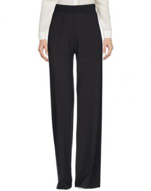 Повседневные брюки SIYU. Цвет: стальной серый