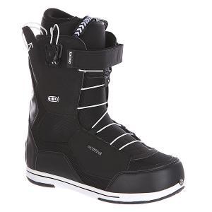 Ботинки для сноуборда  Id 6.1 Cf Black Deeluxe. Цвет: черный