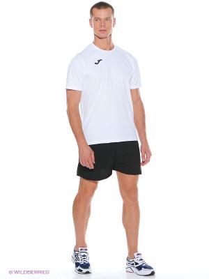 Беговые шорты Joma. Цвет: черный