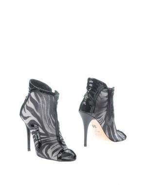 Полусапоги и высокие ботинки RUCO LINE. Цвет: свинцово-серый