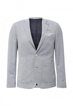 Пиджак Burton Menswear London. Цвет: голубой