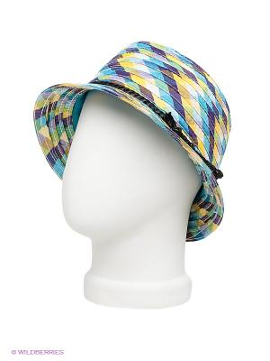Шляпа Imojo. Цвет: голубой, фиолетовый, желтый