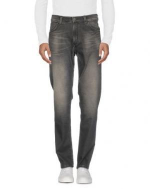 Джинсовые брюки WRANGLER. Цвет: стальной серый