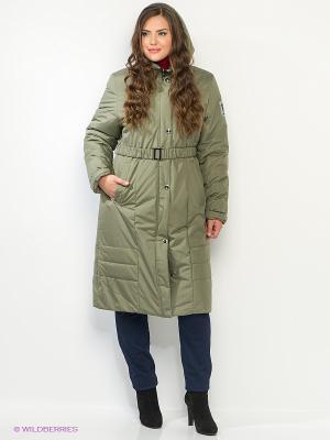 Пальто CARMEN Maritta. Цвет: хаки