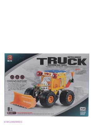 Конструктор Intelligent Truck YONGTAI. Цвет: желтый, серо-коричневый