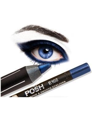 Косметический карандаш POSH.. Цвет: синий