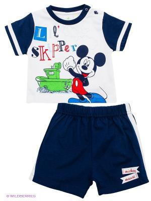 Комплект Disney. Цвет: темно-синий, белый