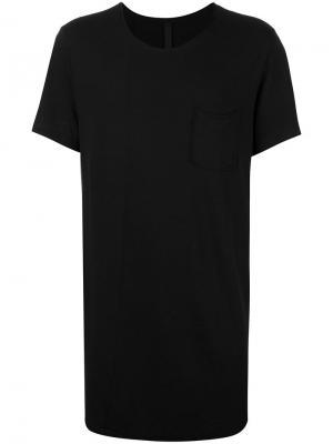 Базовая футболка Poème Bohémien. Цвет: чёрный