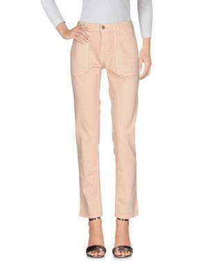 Джинсовые брюки BA&SH. Цвет: телесный