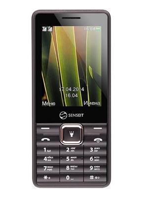 Телефон Senseit L108. Цвет: черный