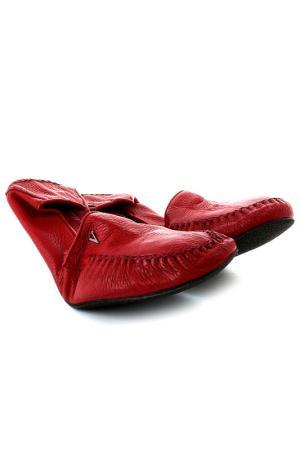 Тапочки Valentino. Цвет: красный