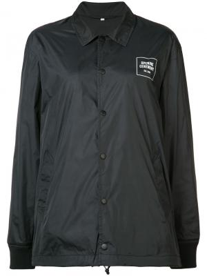 Куртка-бомбер с принтом логотипа Opening Ceremony. Цвет: чёрный