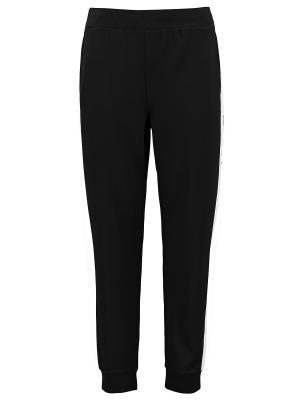 Брюки спортивные DKNY. Цвет: черный