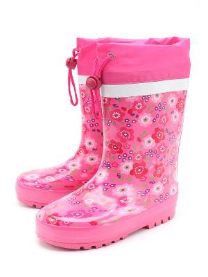 Резиновые сапоги Сказка. Цвет: розовый