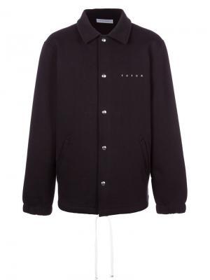 Куртка-рубашка Steady Futur. Цвет: чёрный
