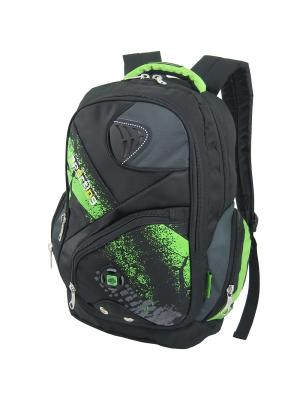 Рюкзак Stelz. Цвет: черный, зеленый