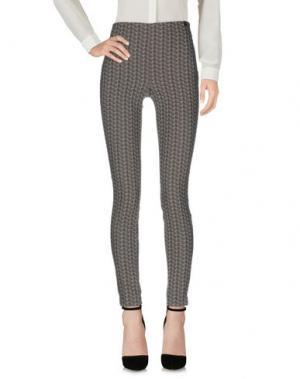 Повседневные брюки OTTOD'AME. Цвет: свинцово-серый