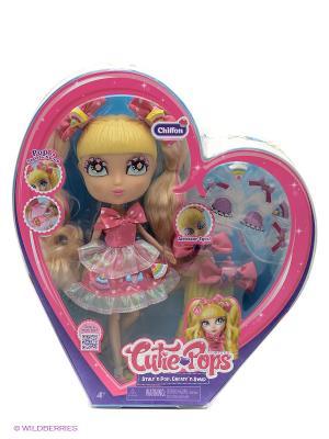 Набор Кьюти Попс Делюкс Кукла Шифон в розовом с аксессуарами Jada. Цвет: розовый