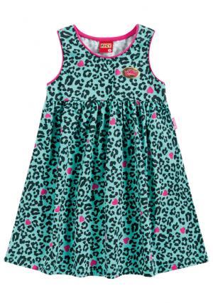 Платье KYLY. Цвет: синий (голубой)