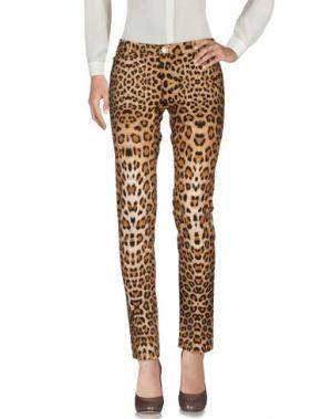 Повседневные брюки NORA BARTH. Цвет: коричневый