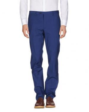 Повседневные брюки ANGELO NARDELLI. Цвет: синий