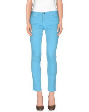 Повседневные брюки GOOD MOOD. Цвет: лазурный