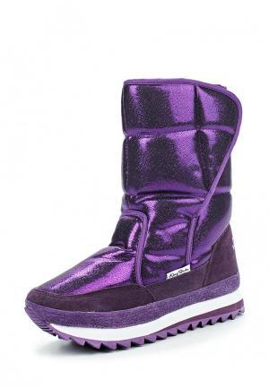 Дутики King Boots. Цвет: фиолетовый