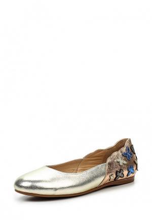 Балетки Grand Style. Цвет: золотой